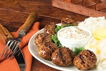 image of Charbroiled Beef Bites 'N Mashed Potatoes